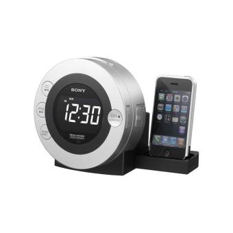 Sony ICFCD3IP 30-Pin iPhone/iPod Clock Radio Speaker Dock with CD Player