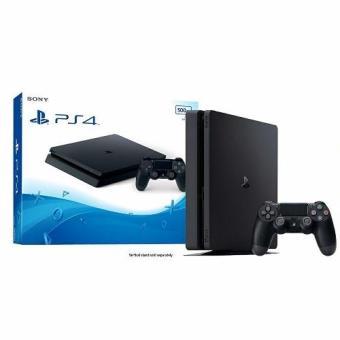 Sony PS4 Slim 500GB Playstation 4 Console (Black) (CUH-2006 with Sony warranty)