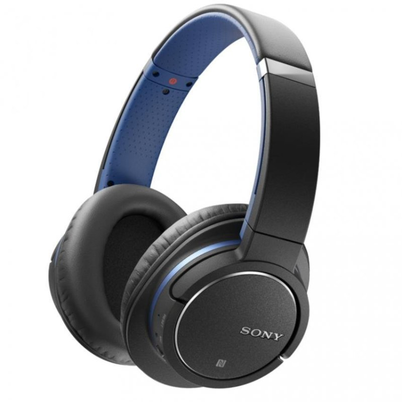 Sony Singapore ZX770BN Noise Cancelling with Bluetooth Headphone (Blue) Singapore