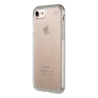 Speck Glitter Case iPhone 7 Presidio Clear Gold