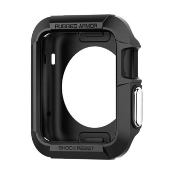 Harga Spigen 42mm Rugged Armor Apple Watch S3/S2/S1
