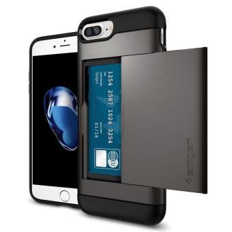 Spigen Slim Armor CS Series Case for iPhone 8 Plus / 7 Plus(Gunmetal) - 2