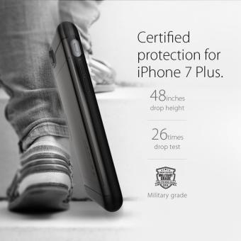 Spigen Slim Armor CS Series Case for iPhone 8 Plus / 7 Plus(Gunmetal) - 3