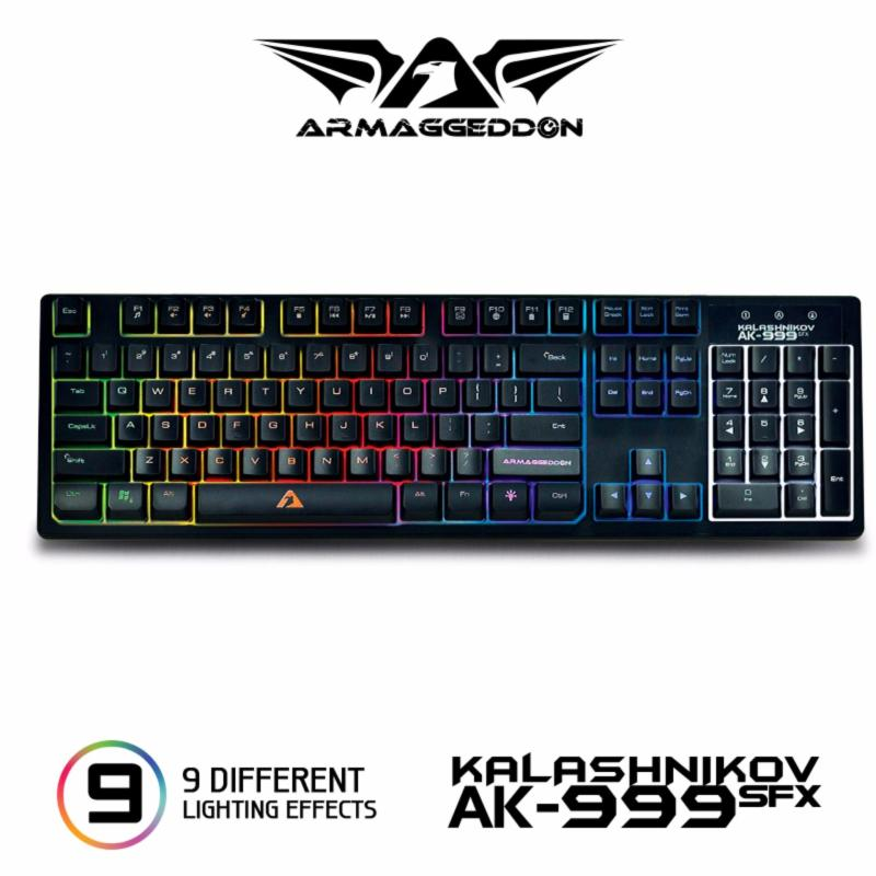 Spill proof gaming keyboard AK-999sfx Singapore