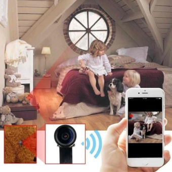Spy Mini WiFi Network Cam Camera DVR Motion Detection RecorderSecurity - intl - 2