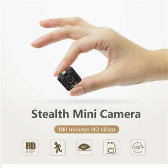 SQ11 mini 1080P full HD auto DVR camera recorder (Black) - intl