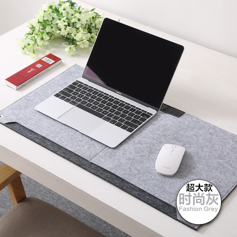 oversized multifunctional grey light mat with pad richoose desk power felt non cord clips mouse keyboard mats gaming club ac slip earphone computer large dp ck extended organizer
