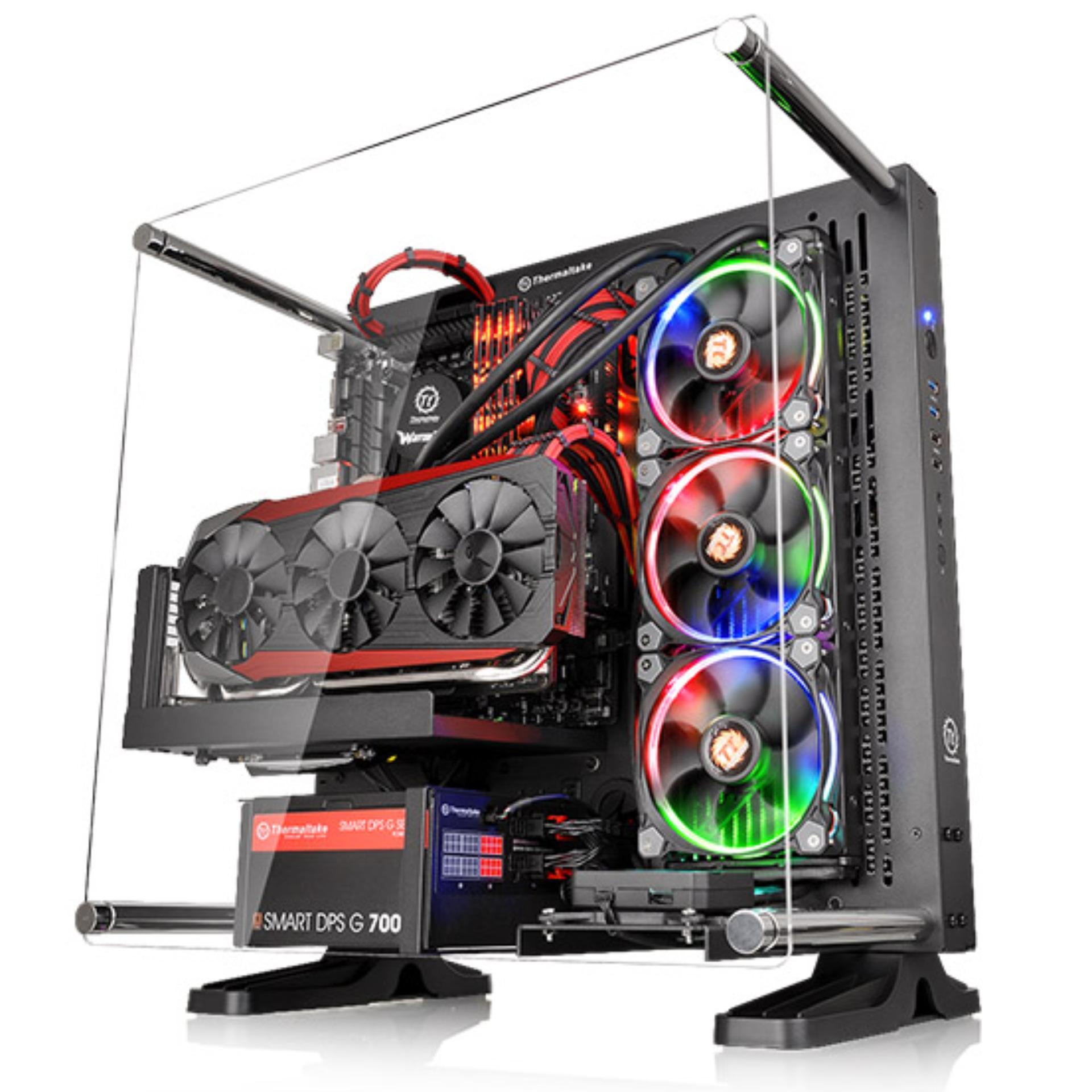 Thermaltake Core P3 ATX Open Frame Casing - Black Singapore