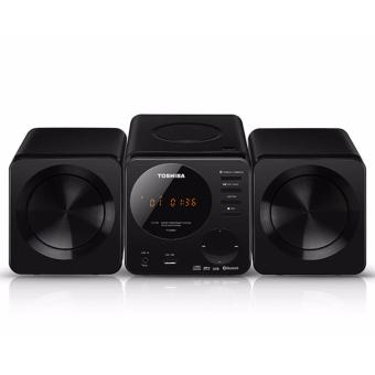 Toshiba TY-ASW81 CD Micro Component System with Bluetooth 110-240Volts(Black)