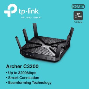 TP-LINK - Archer C3200 Wireless Tri-Band Gigabit Router