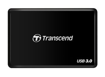 Transcend USB 3.0 Multi Card Reader (Black) - 2