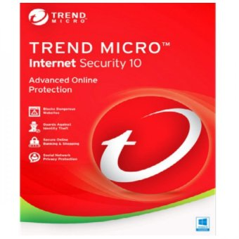 Trend Micro Internet Security Cloud Edition 1PC 1 License
