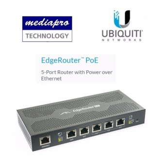 Ubiquiti ERPOE-5 EdgeRouter PoE 5-Port Router with Power over Ethernet