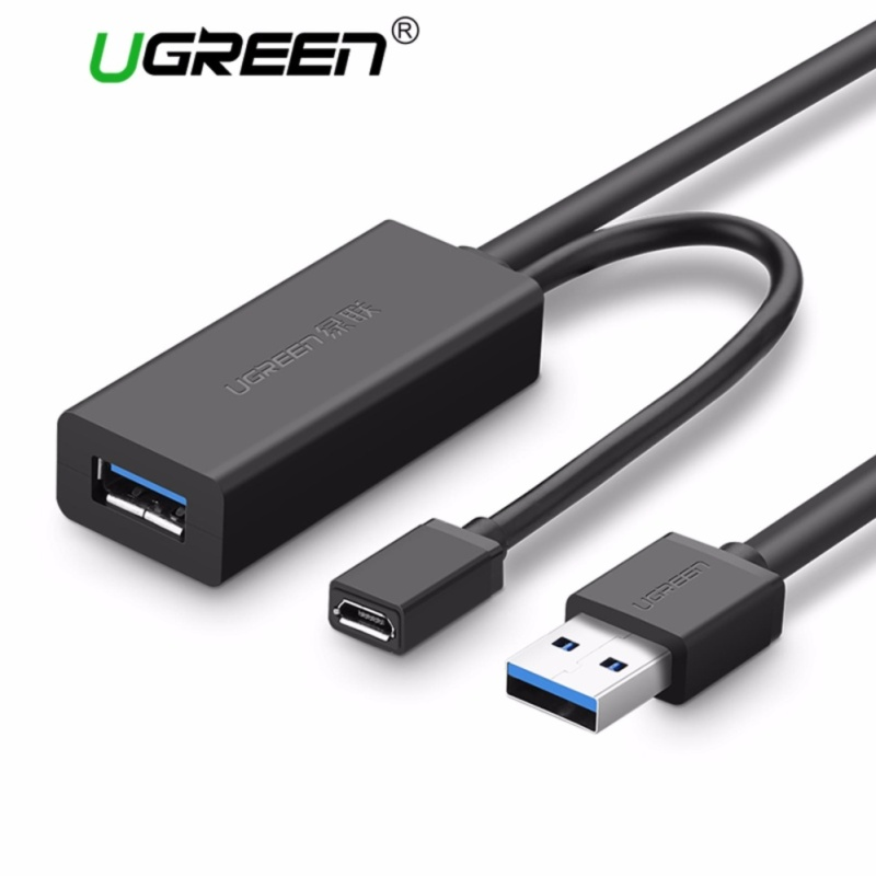 UGREEN USB 3.0 Male to Female Active Extension Repeater Cable with Signal Amplifier Repeater (10m)-Intl - intl