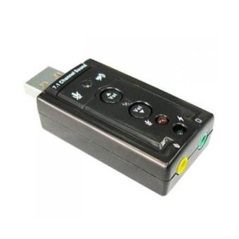 USB 2.0 External Sound Card 3D 7.1 Audio Adapter