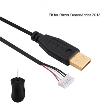 Harga USB Mouse Cable/Line/Wire Replacement for Razer DeaceAdder 2013 Line 8 - intl