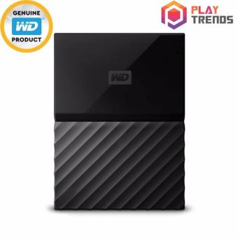 WD MY PASSPORT PORTABLE STORAGE 1TB/2TB/4TB BLACK (WDBYFT0040BBK)