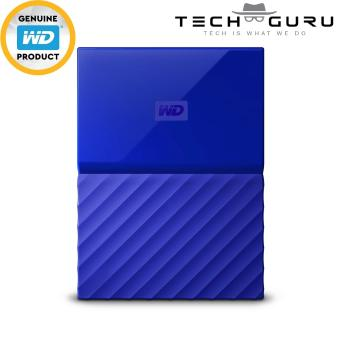 WD MY PASSPORT PORTABLE STORAGE 4TB BLUE