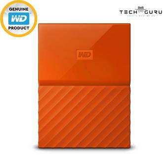 WD MY PASSPORT PORTABLE STORAGE 4TB ORANGE