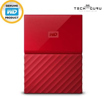 WD MY PASSPORT PORTABLE STORAGE 4TB RED