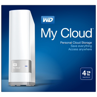 WD MyCloud choice of 6TB 4TB 2TB My Cloud
