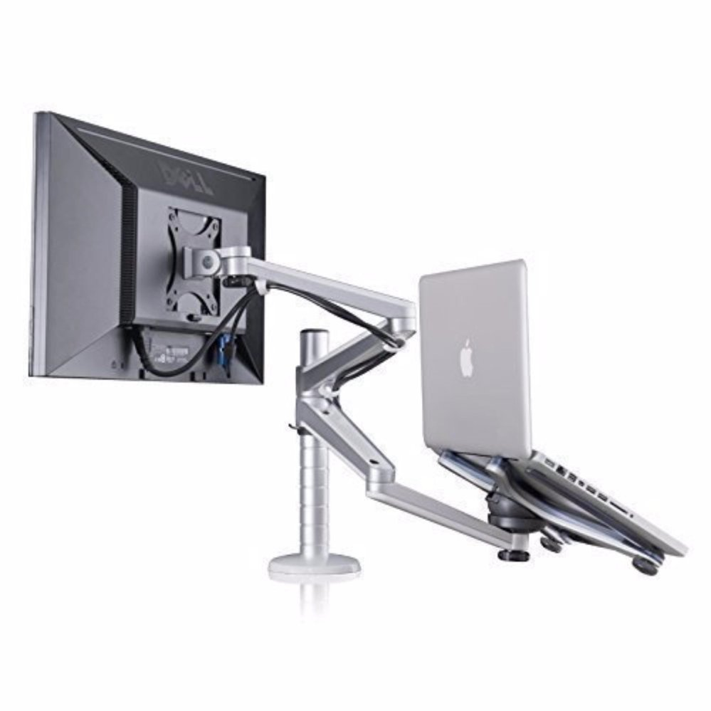 Wego Fashion High Quality Adjule Aluminium Universal Laptop Notebook Computer Monitor Stand Desk Mount Bracket