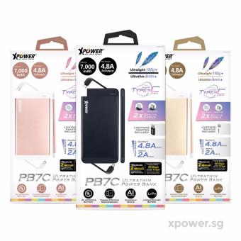 XPower XP-PB7C Quick Charge 3.0 Ultra Thin Type-C Power Bank - 4
