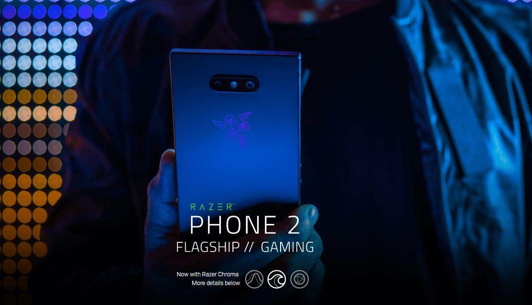 Razer Phone 2 64GB (Local 1 year Razer warranty)