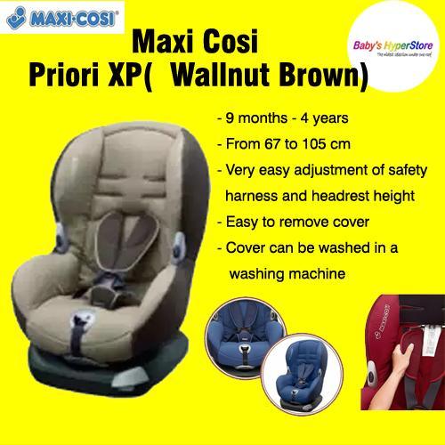 Maxi Cosi Priori XP Car Seat - Wallnut Brown  ( EX