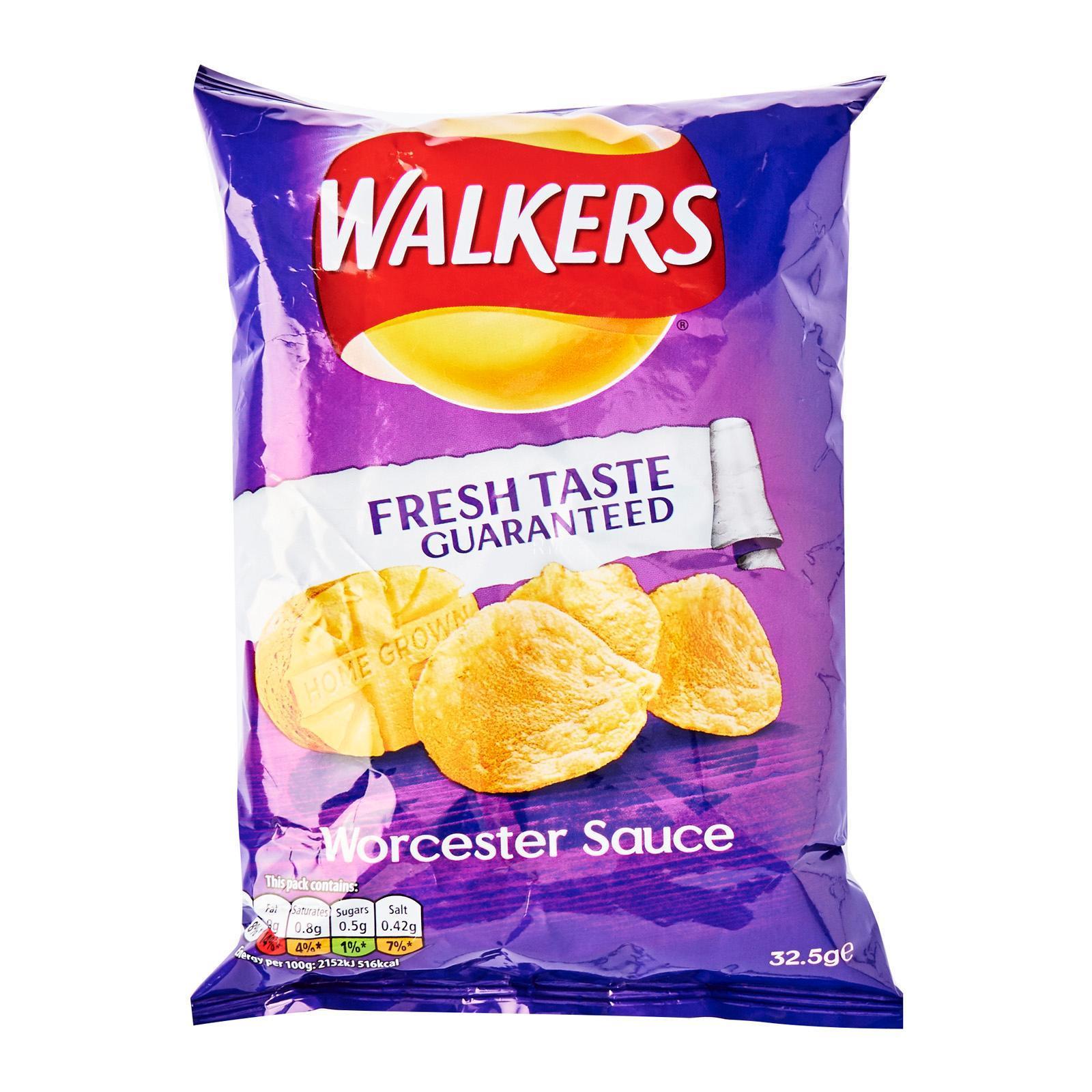 Walkers Worcester Sauce Crisp Buy Sell Online Potato Chips Crisps