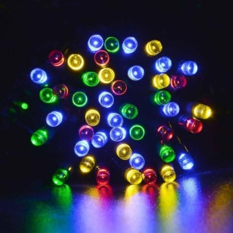 100 LED Outdoor Solar Powered String Light Christmas Party Lamp 17MMR - intl