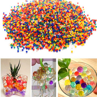 Harga (100 Pcs/1 bag) Pearl Shaped Polymer Crystal Grow MagicBalls(mixed-color)