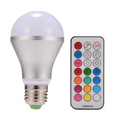10W E27 Dimmable RGBW LED Light Bulb Colors Changing with Remote Control - intl Singapore