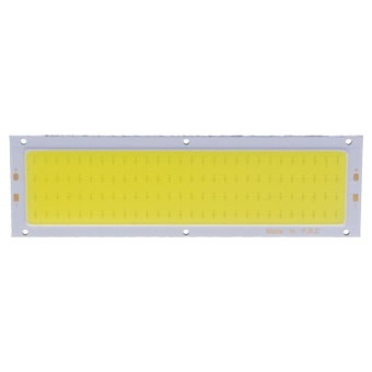 12V 10W COB Panel Light LED Strip Light Lamp Bulb 120X36mm (White) - intl