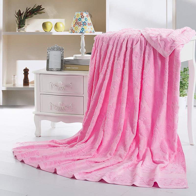 1.5 m double-sided terry cotton air conditioning was towel is