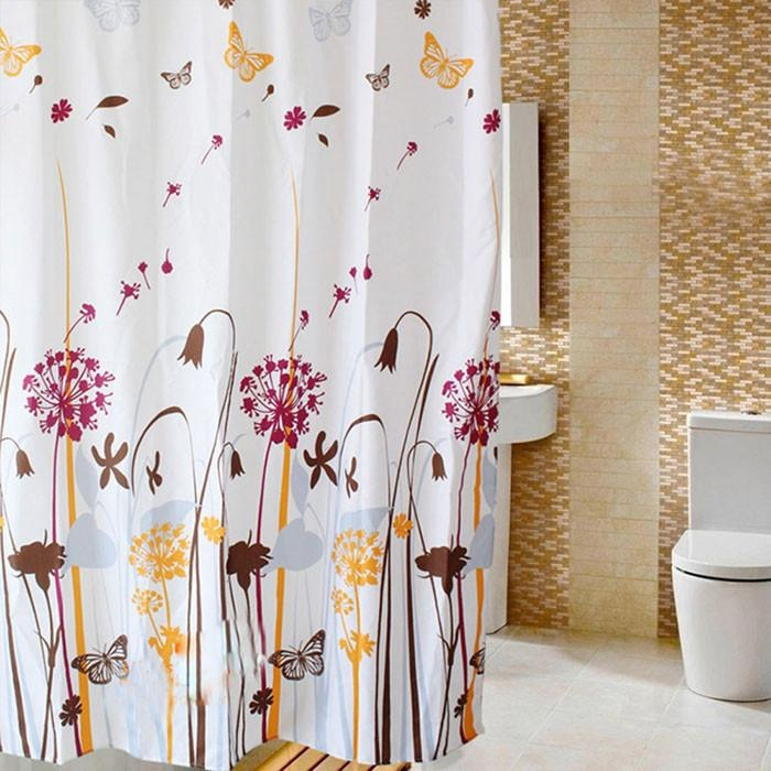 150*200CM Dandelion Landscape Bathroom Bath Shade Polyester ShowerCurtain - intl
