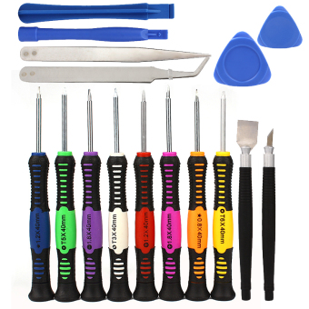 16 in 1 Mobile Phone Cellphone Opening Repair Tools Screwdrivers Set Kit