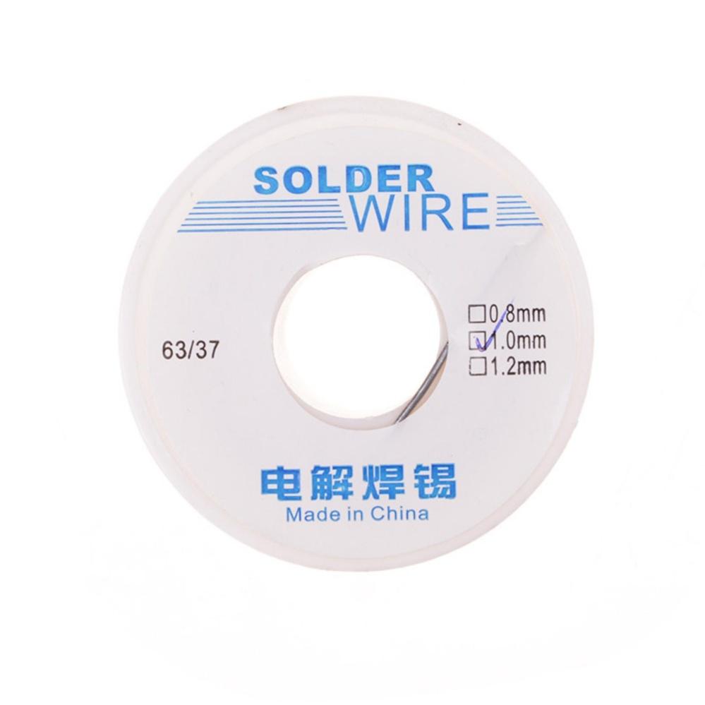 1mm Rosin Core Solder Flux Soldering Welding Iron Wire Reel 50g 1.0 ...
