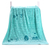 2 pieces dress soft absorbent not out hair cartoon bath towel adult children's blanket favor set