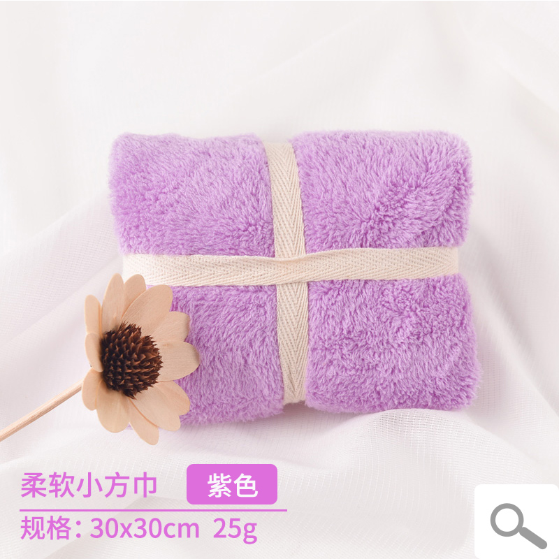 2 strip loaded super absorbent towel soft not off hair wash small square portable drizzle children cleaning hand towel