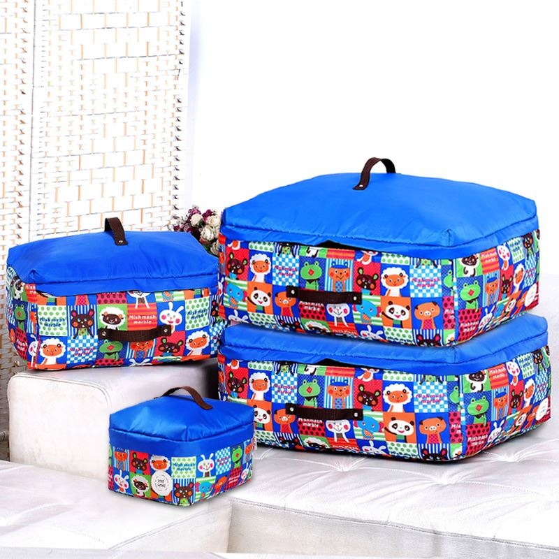 2016 Oxford textile quilt pouch bag Oxford Cloth moisture-proofclothes packing luggage bags quilt dust bag