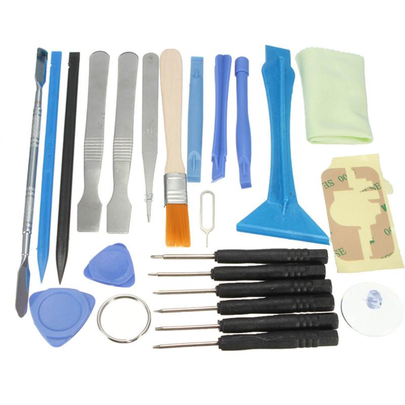 23 in 1 Repair Metal Spudger Opening Pry Tool Kit Screwdriver Set For Pad Tablet