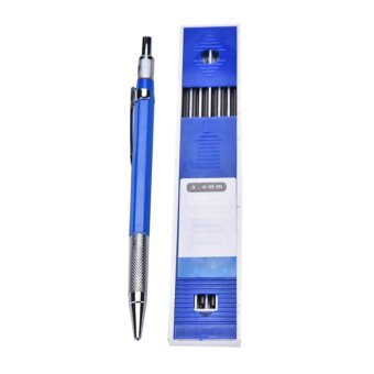 2B 2mm Lead Holder Automatic Mechanical Drawing Drafting Pencil 12Leads Refills - intl