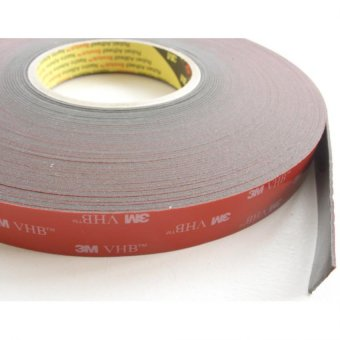 Harga 3M(TM) VHB(TM) Tape 4611 Gray, 1/2 in x 36 yd, Double Sided Tape