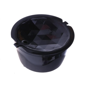 3pcs Coffee Capsules Refillable Reusable for Dolce Gusto 2nd Filters(Black) - intl