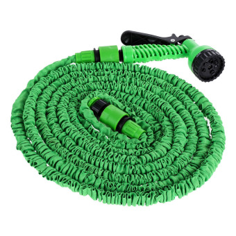 50 Feet Expandable Garden Water Hose with Spray Nozzle