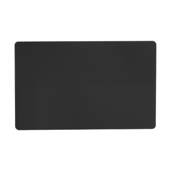 50Pcs Impressive Blanks Laser Mark Engraved Metal Business Visiting Name Cards (Black) - intl - 2