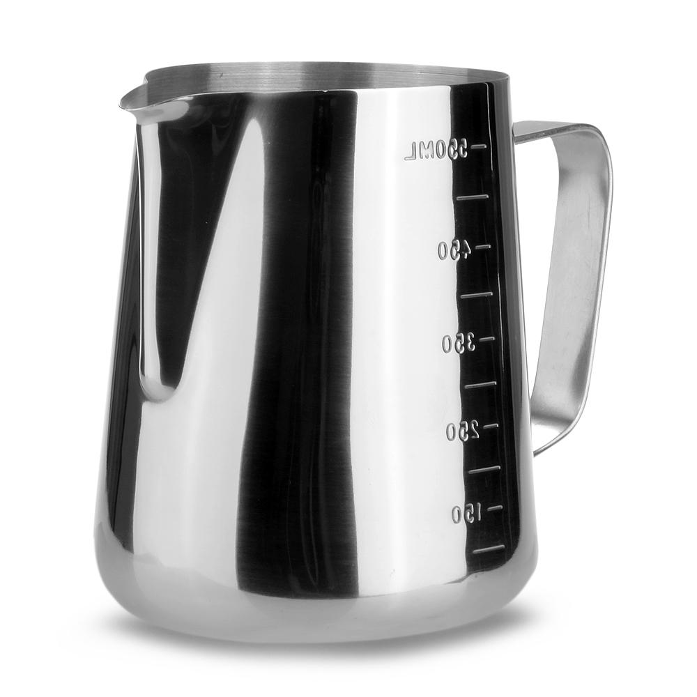 600ml stainless steel milk espresso coffee measuring frothing pitcher export lazada singapore
