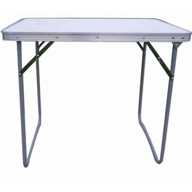Portable Foldable Aluminium Table 70 x 50cm (Two color options)