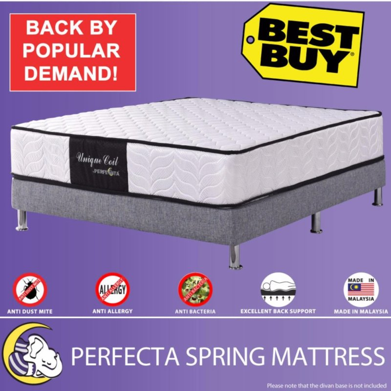 9-inches PERFECTA SPRING MATTRESS - Unique Coil